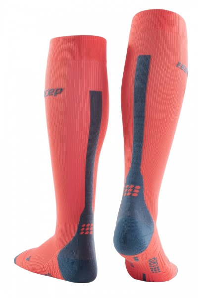 CEP run socks 3.0, women, coral/grey Damen