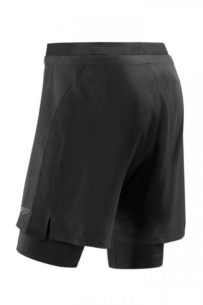 CEP training 2in1 shorts*, men, black Herren