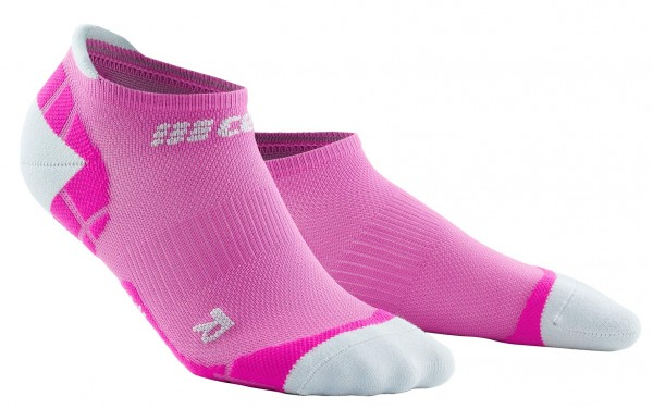 CEP ultralight no show socks*, women, electric pink/light grey Damen