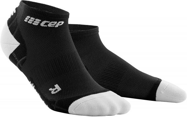 CEP ultralight low-cut socks*, women, black/light grey Damen