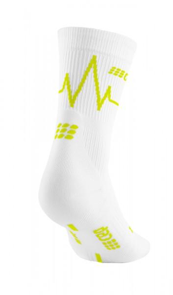 CEP heartbeat mid-cut socks, women, sun light Damen