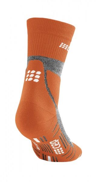 CEP hiking merino* mid-cut socks, women, sunset/grey Damen