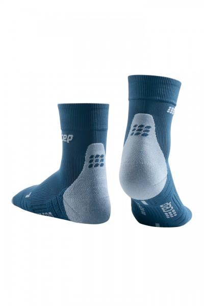 CEP short socks 3.0, women, blue/grey Damen
