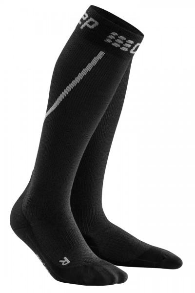 CEP winter run socks, men, grey/black Herren