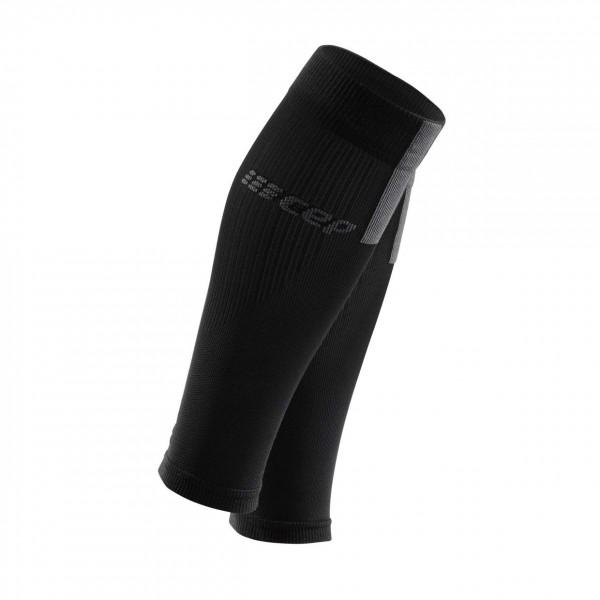 CEP calf sleeves 3.0, women, black/dark grey Damen
