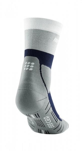CEP hiking light merino mid-cut socks*, women, marineblue/grey Damen