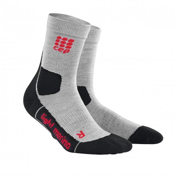 CEP hiking light merino mid-cut socks, women, volcanic dust Damen