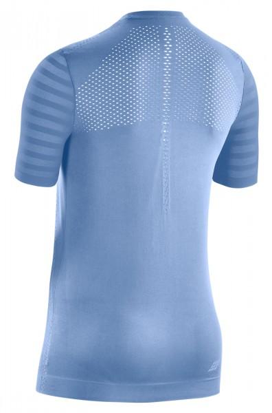 CEP run ultralight shirt, short sleeve, women, sky Damen