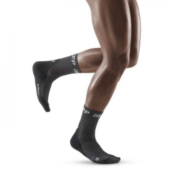 CEP winter short socks, men, grey/black Herren