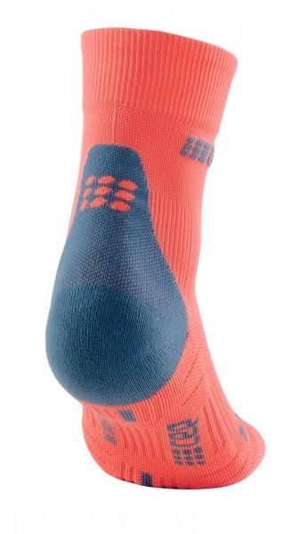 CEP short socks 3.0, women, coral/grey Damen