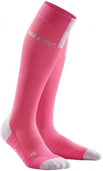 CEP run socks 3.0, women, rose/light grey Damen