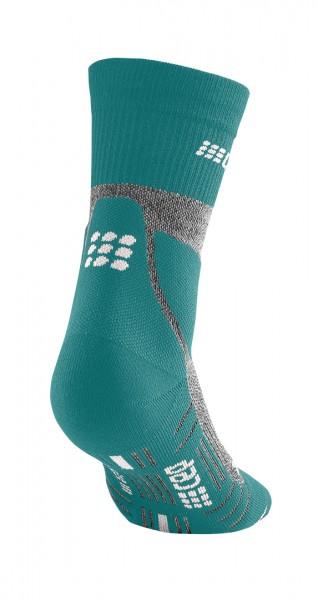 CEP hiking merino* mid-cut socks, women, forestgreen/grey Damen