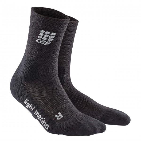 CEP hiking light merino mid-cut socks, men, lava stone Herren