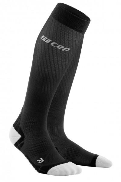 CEP run ultralight socks*, men, black/light grey Herren