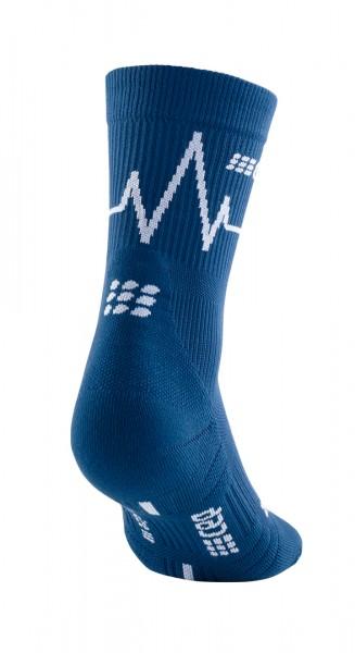 CEP heartbeat mid-cut socks, women, ocean wave Damen