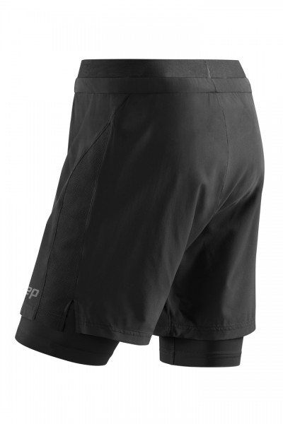 CEP training 2in1 shorts*, women, black Damen