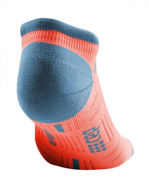 CEP no show socks 3.0, women, coral/grey Damen
