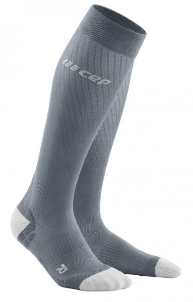 CEP run ultralight socks*, women, grey/light grey Damen