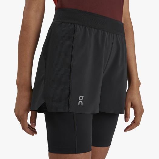 On Active Shorts Black Damen