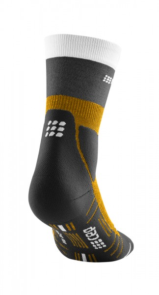 CEP hiking light merino mid-cut socks*, women, sungold/black Damen