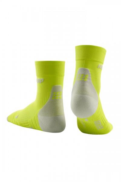 CEP short socks 3.0, men, lime/light grey Herren