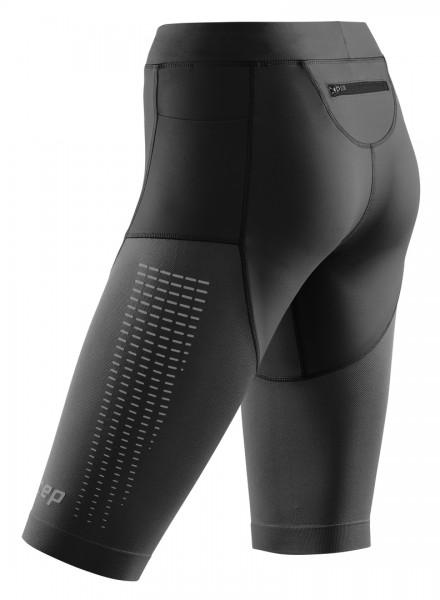 CEP run compression shorts 3.0, women, black Damen