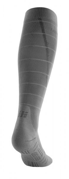 CEP reflective socks, men, grey Herren