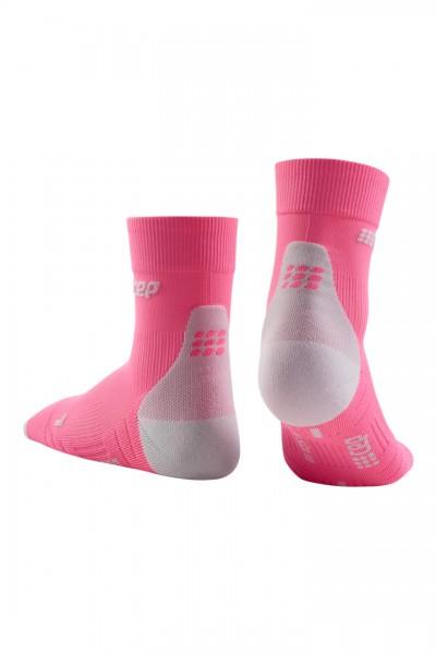 CEP short socks 3.0, women, rose/light grey Damen