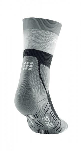 CEP hiking light merino mid-cut socks*, men, stonegrey/grey Herren