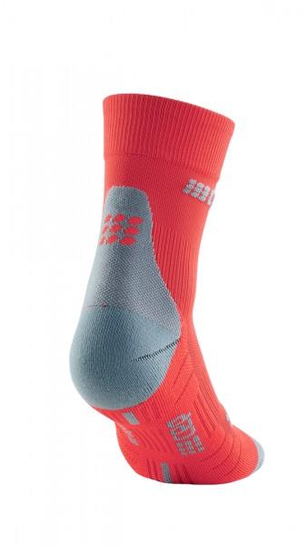 CEP short socks 3.0, men, lava/grey Herren