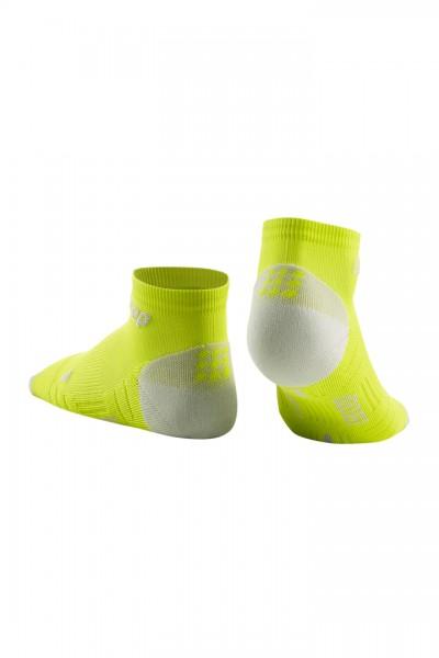 CEP low cut socks 3.0, men, lime/light grey Herren