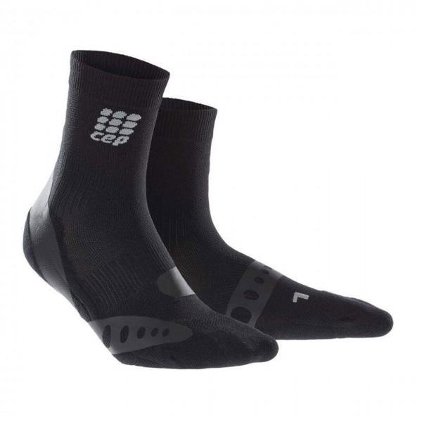 CEP ortho pronation control short socks, unisex, black Herren