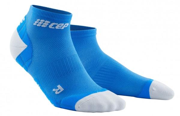 CEP ultralight low-cut socks*, men, electric blue/light grey Herren