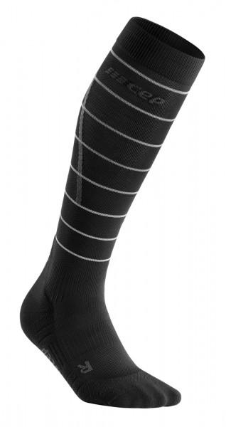 CEP reflective socks, men, black Herren