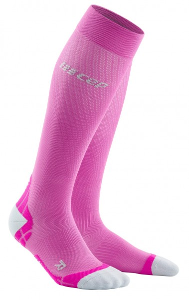 CEP run ultralight socks*, women, electric pink/light grey Damen