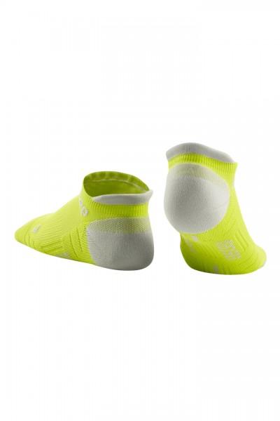 CEP no show socks 3.0, men, lime/light grey Herren
