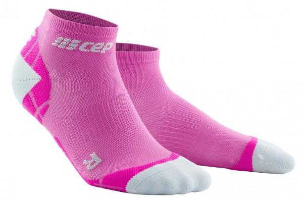 CEP ultralight low-cut socks*, women, electric pink/light grey Damen
