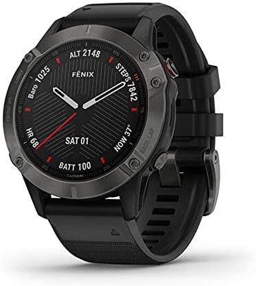 Garmin GPS-Multisportuhr Fenix 6 Sapphire