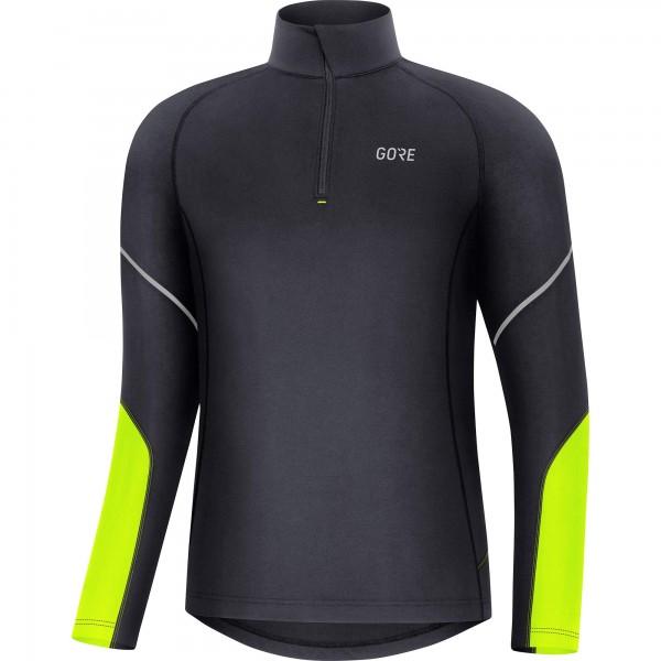 GORE® M Mid Zip Shirt langarm Herren