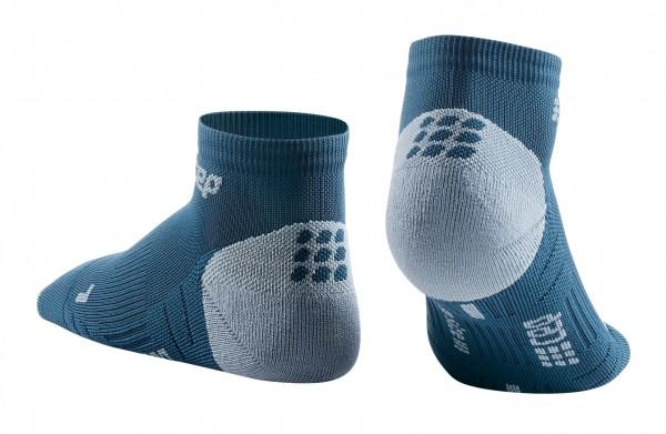CEP low cut socks 3.0, women, blue/grey Damen